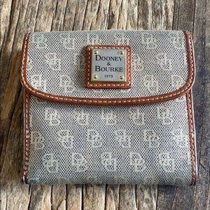 Dooney & Bourke Signature Fabric Wallet